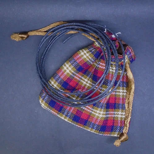 Extras: Cords & Tartan Pouches (Add-On Item Only)