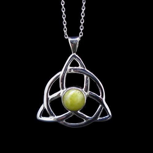 Celtic Trinity Knot Sterling Silver Pendant