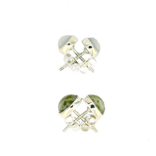 Iona Marble Stud Earrings (2 Sizes)