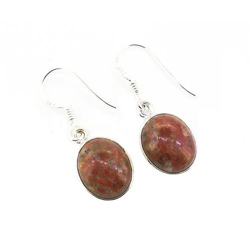 Lewisian Small Oval Earrings