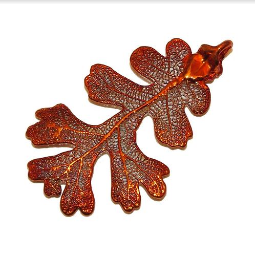 Oak Red Copper Pendant