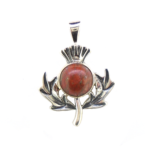 Lewisian Scottish Thistle Pendant