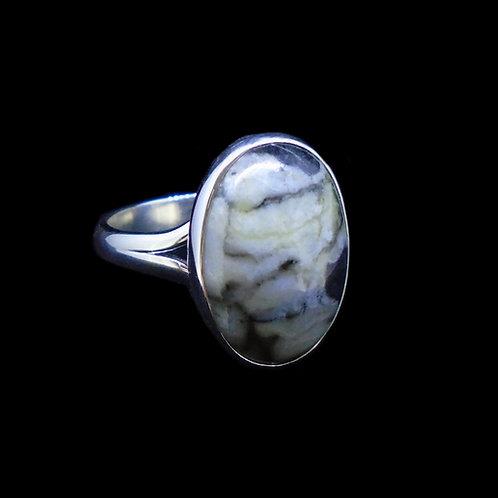 Skye Marble Sterling Silver Ring