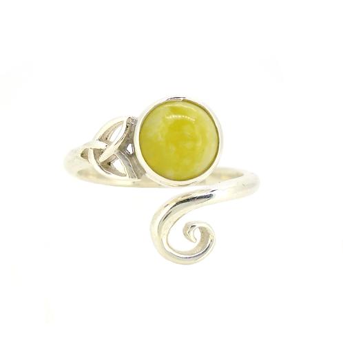 Highland Marble Celtic Trinity Ring