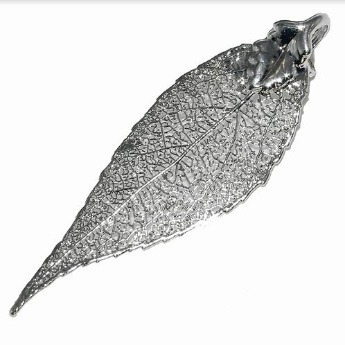 Laurel Silver Pendant