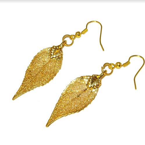 Laurel Gold Earrings