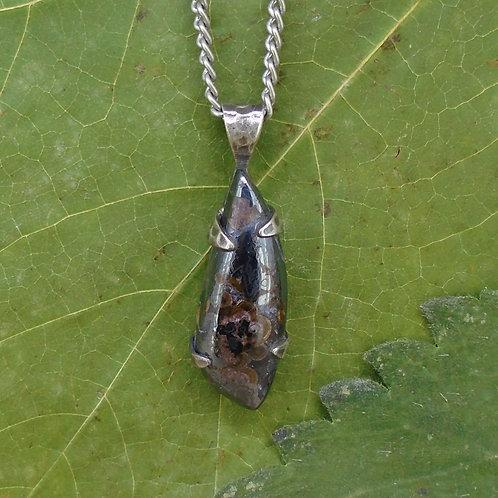 Haddington Tiger's Eye Sterling Silver Pendant