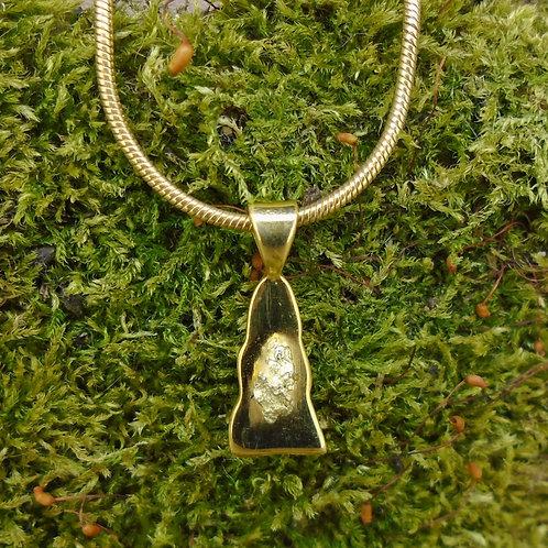 Scottish Gold Sterling Silver Pendant
