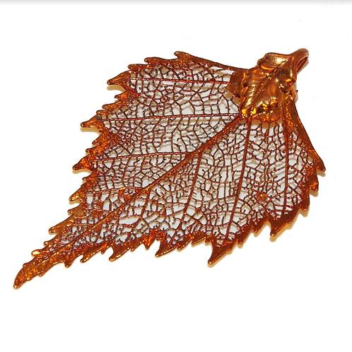 Birch Red Copper Pendant