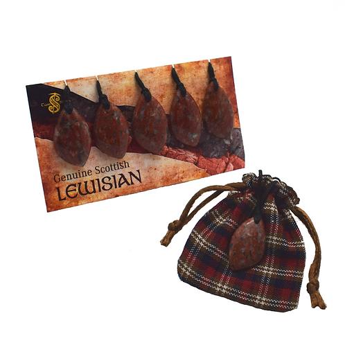 Lewisian Pendants (Cord) Pack of 5