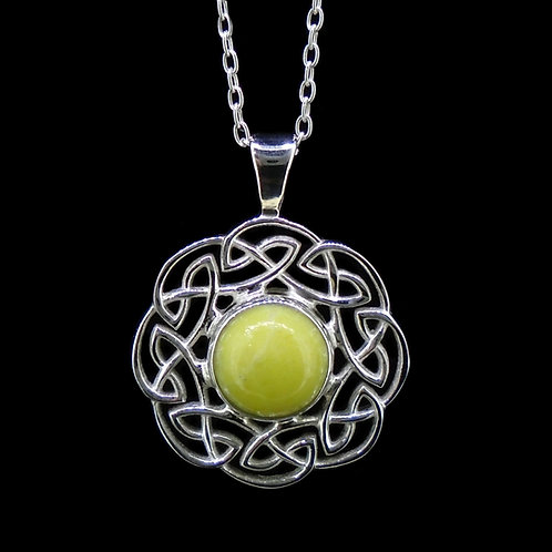 Celtic Sun Sterling Sterling Silver Pendant
