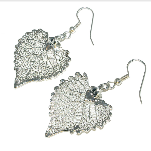 Cottonwood Silver Earrings