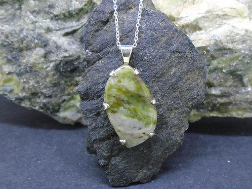Connemara Marble Sterling Silver Pendant