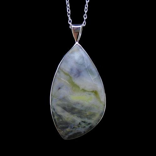 Skye Marble Sterling Silver Pendant