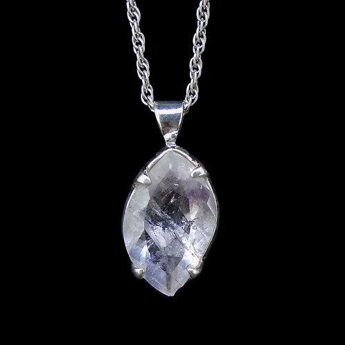 Scottish Amethyst Sterling Silver Pendant
