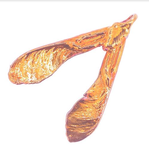 Sycamore Red Copper Pendant