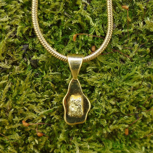 Scottish Gold Sterling Silver Pendant