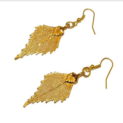 Birch Gold Earrings
