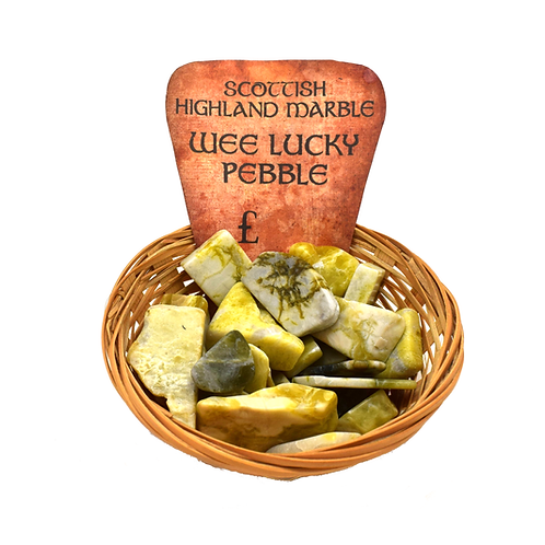 Highland Marble Lucky Pebbles (500g/1kg)