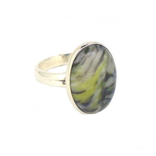Skye Marble Large Ring