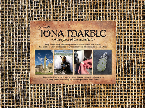 Scottish Iona Product Brochure