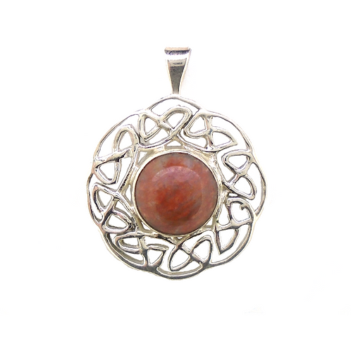 Lewisian Celtic Filigree Pendant