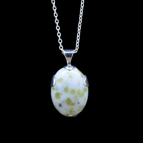 Iona Marble 'Secret Cross' Sterling Silver Pendant