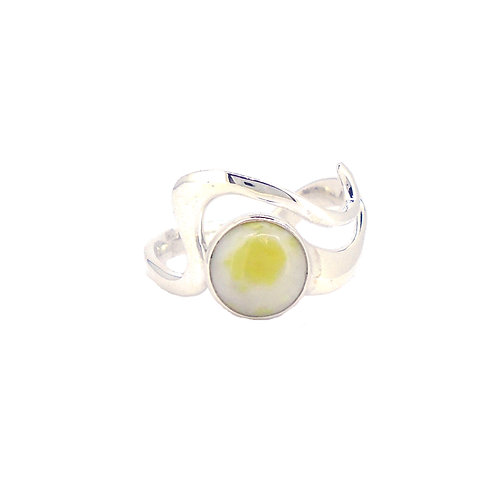 Iona Marble Wave Crest Ring