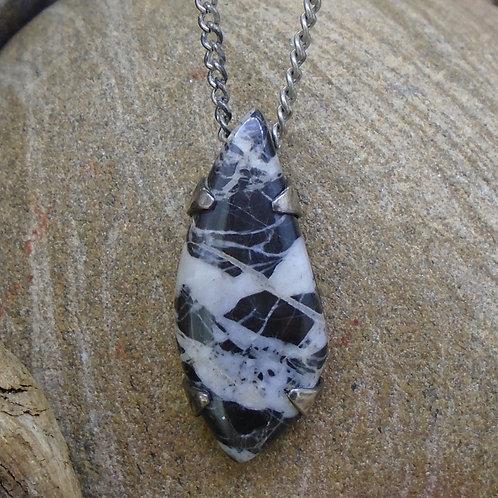 Ullapool Stone Sterling Silver Pendant