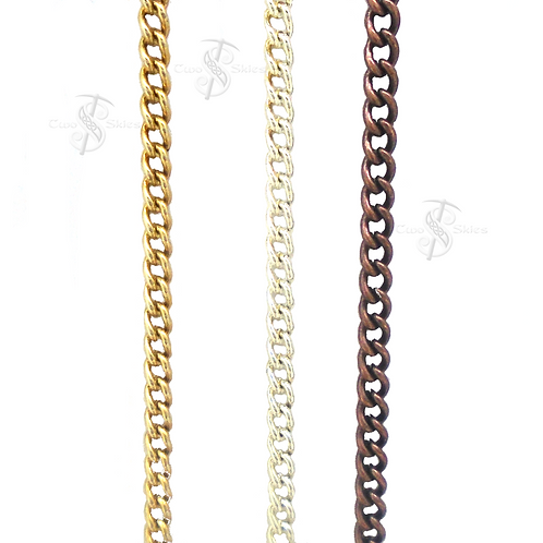 "24"" Plated Link Chain"