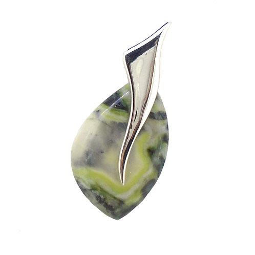Skye Marble Wing Pendant
