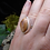 Thumbnail: Scottish Agate Sterling Silver Celtic Ring