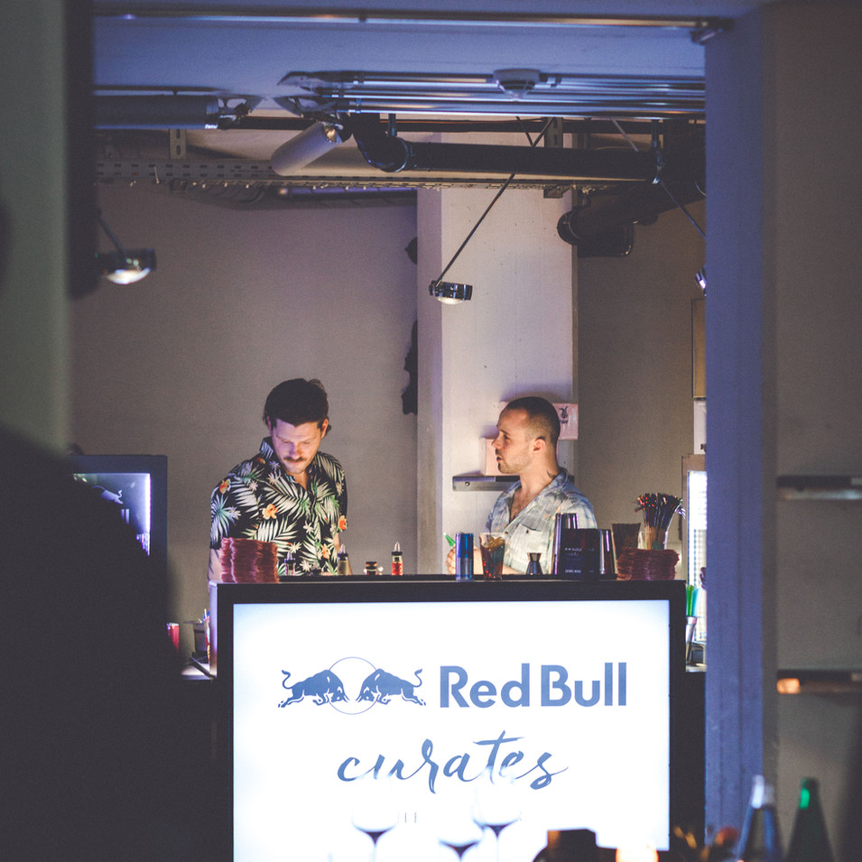 Red Bull curates the Dinner