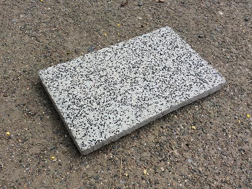 แผ่นหินล้าง เทา-ดำ 30x50x4ซม. #10