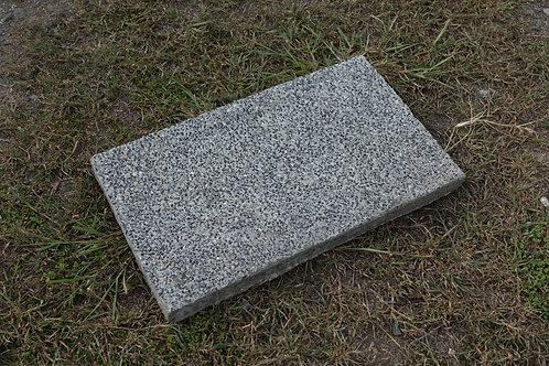 แผ่นหินล้าง สีดำ หน้าเรียบ 30x50ซม.