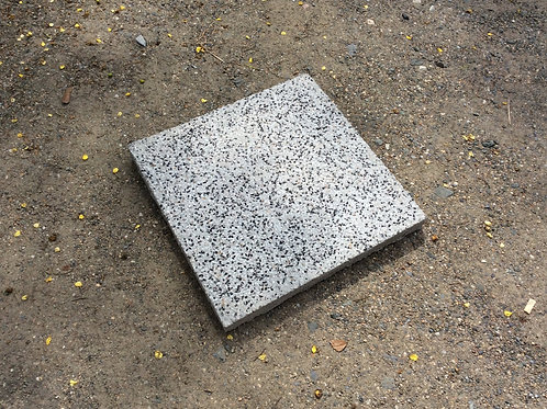 แผ่นหินล้าง เทา-ดำ 40x40x4ซม. #8
