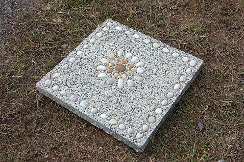 แผ่นหินล้างกรวดขอบ 40x40x4ซม. #9
