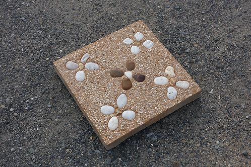 แผ่นทรายล้างดอกมุม 30x30x4ซม. #15