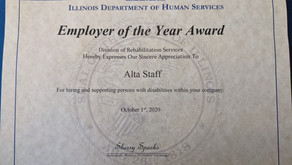 AltaStaff: IDHS Employer of the Year