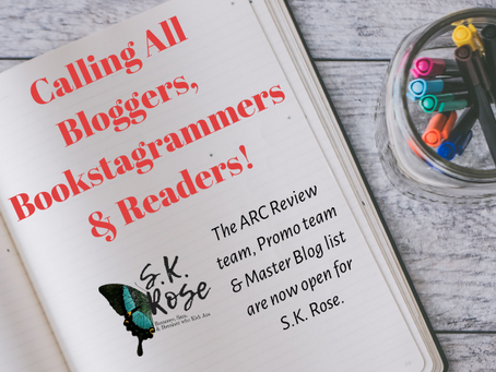 📣Calling all Bloggers, Bookstagrammers & Readers 📣