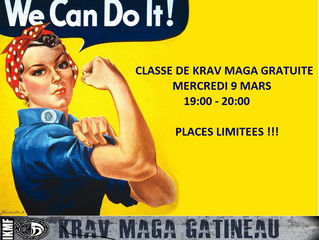 CLASSE GRATUITE DE KRAV MAGA