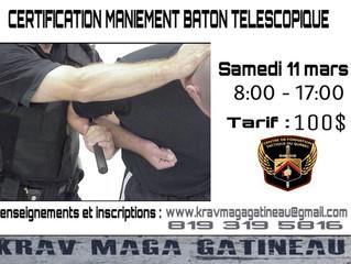 Certification  Baton