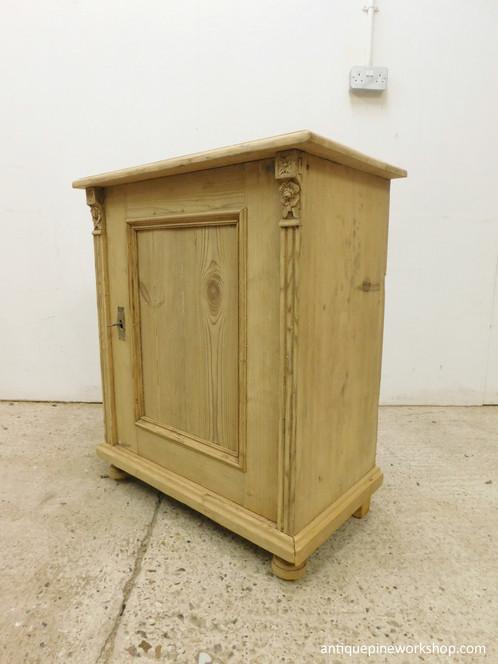 Antique Pine Base Cupboard | Antique Pine Furniture | UK | Antique Pine  Workshop | Old Pine