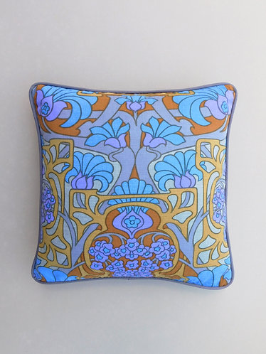 Vintage Heals David Bartle Fandango fabric 70s cushion cover