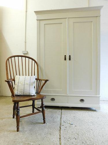 1934 Painted old pine wardrobe