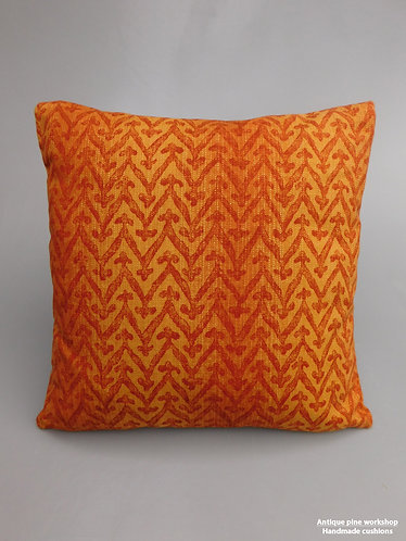 Vintage Monkwell Jalu fabric cushion cover