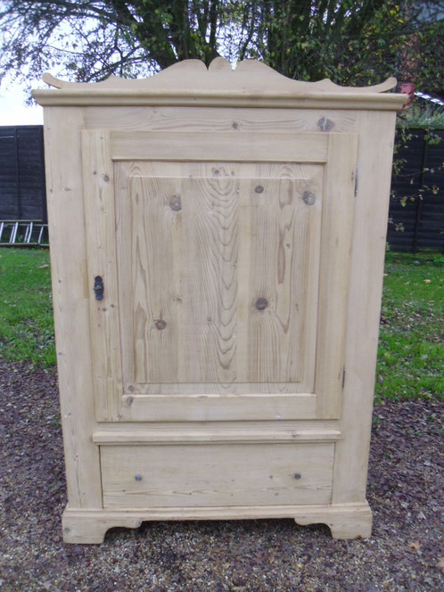 victorian pine cupboard - Old Antique Pine Storage Cupboard Old Pine Linen Cupboard