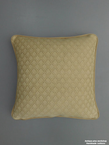 Vintage natural linen cushion fabric cover