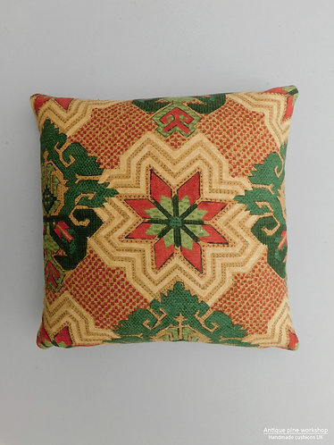 Vintage cushion cover Nina Campbell Holbein Fabric