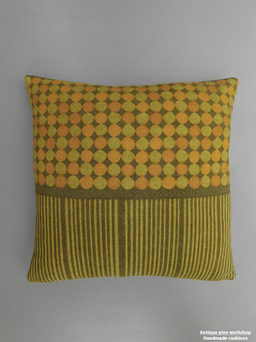 Vintage 60s Heals Peter Halls Abacus cushion cover